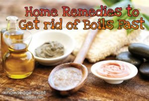 How To Treat A Boil (कराट), Home remedies to get rid of boils fast | My Knowledge Hunt