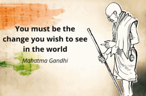 Happy Independence Day 2019 India | Inspirational Quote by Mahatma Gandhi