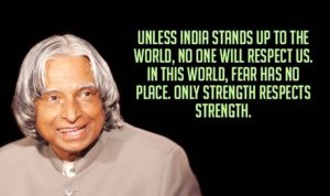 Inspirational quotes for independence day 2019 India by APJ Abdul Kalam