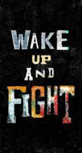 Wake up and fight | Inspirational wallpapers for iPhone