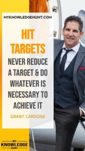 Hit Targets - inspirational quotes