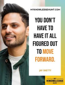 Jay Shetty quotes on growth