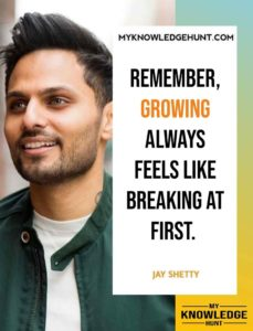 Jay Shetty quotes on self improvement